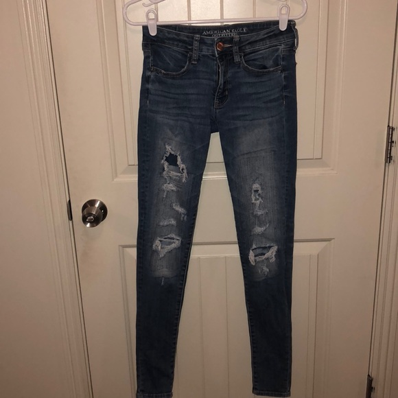 b7810051b984a American Eagle Outfitters Jeans | Faux Rip Jean | Poshmark